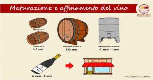 maturazione e affinamento del vino