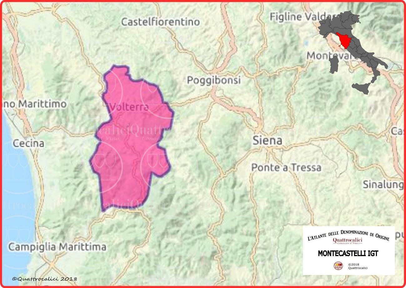 Montecastelli IGT Cartina