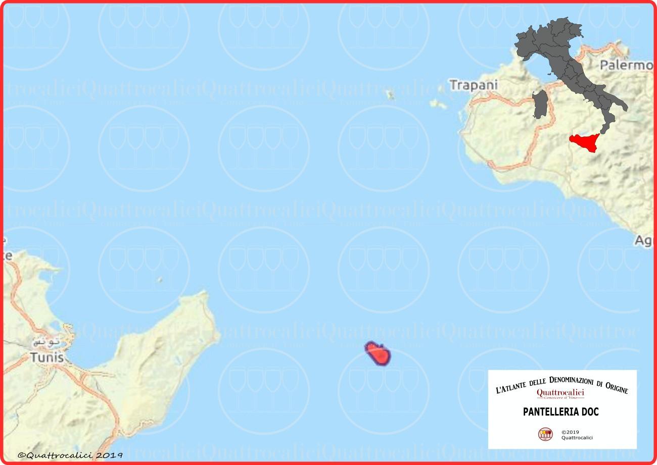 pantelleria doc cartina