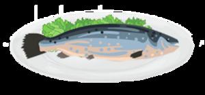 Portate di pesce bollite o al vapore