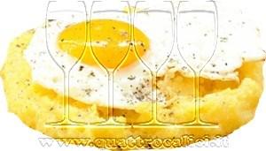 Polenta con le uova