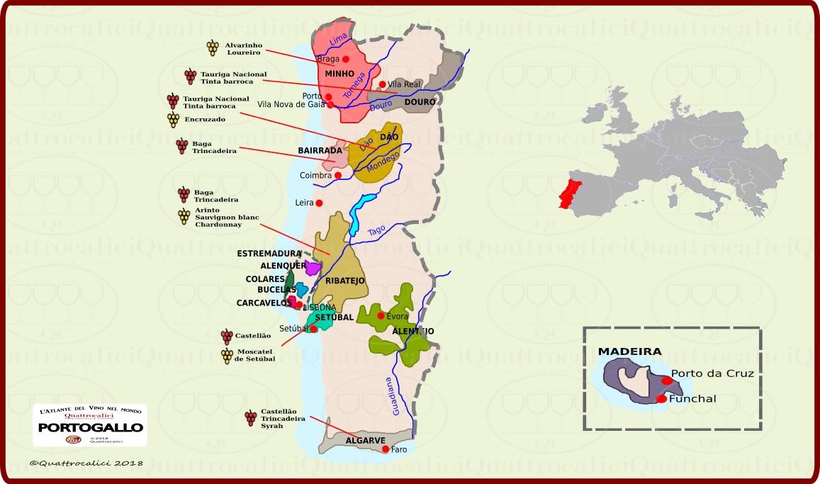 Il Portogallo e il vino