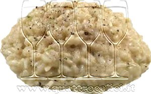Risotto mantecato ai quattro formaggi