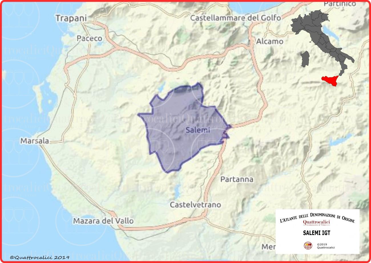 Salemi IGT cartina