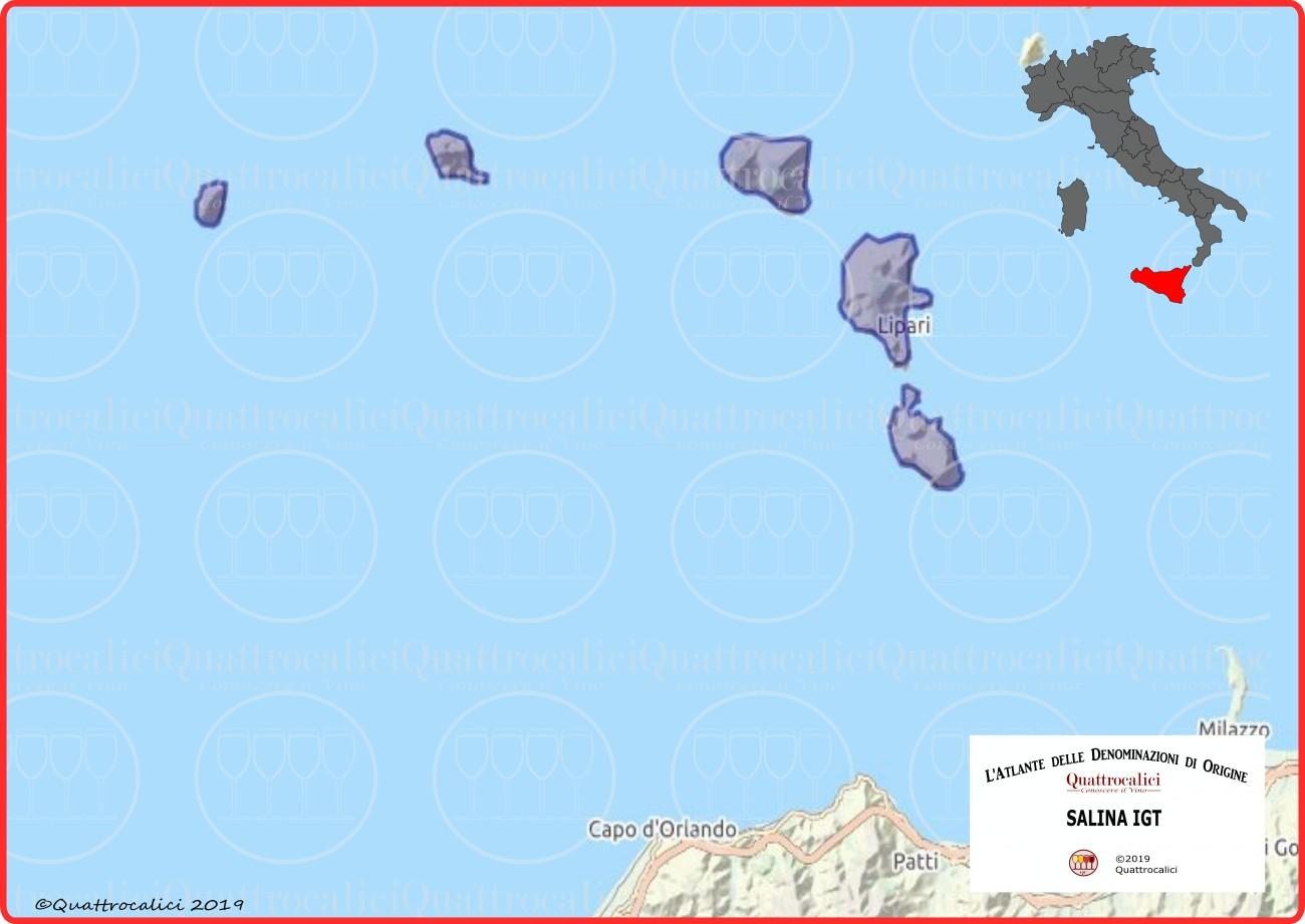 Salina IGT Cartina