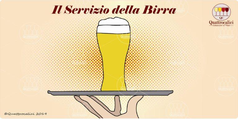 Il servizio della birra