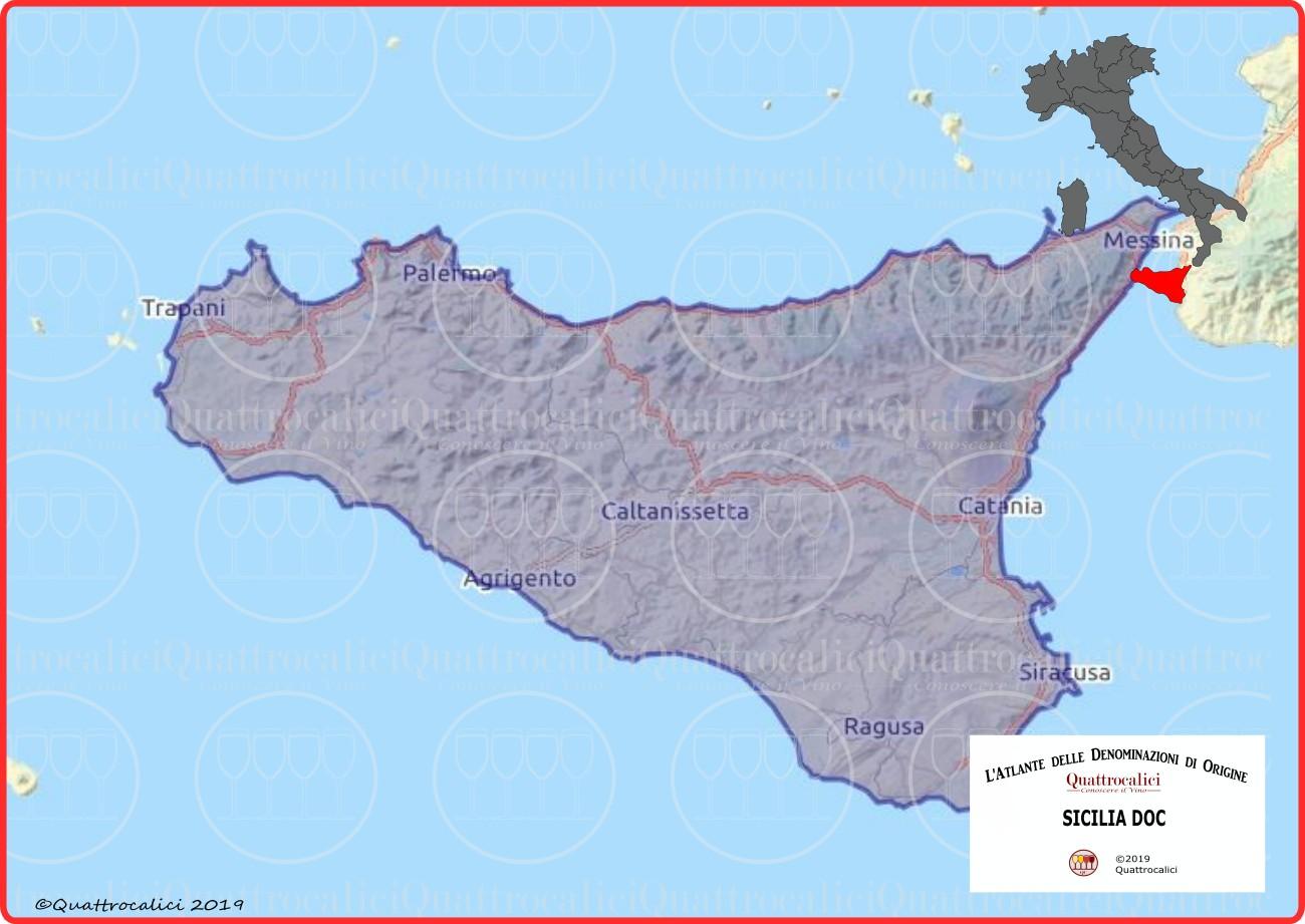 sicilia doc cartina