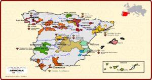 La Spagna e il vino