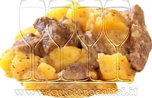 Spezzatino di montone con patate