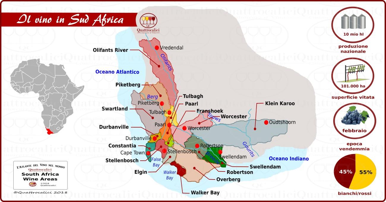 Il Sud Africa e il Vino
