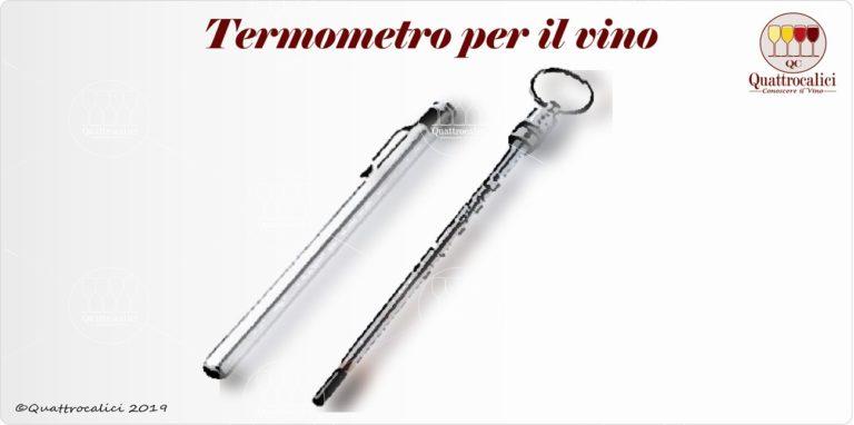 termometro per il vino