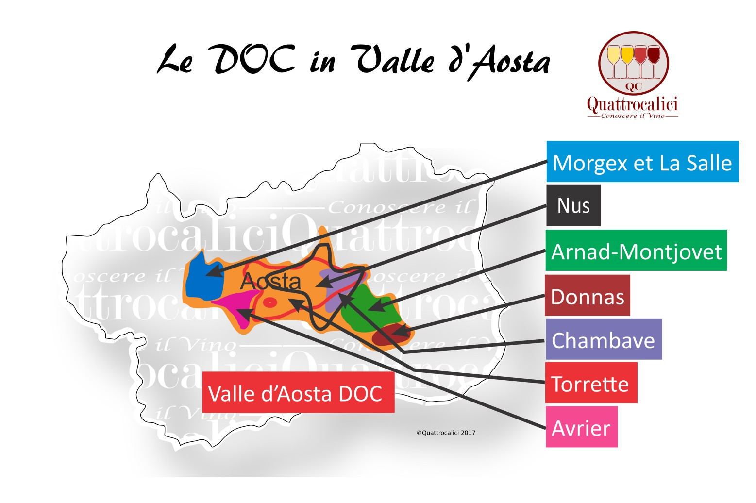 Le DOC in Valle d'Aosta