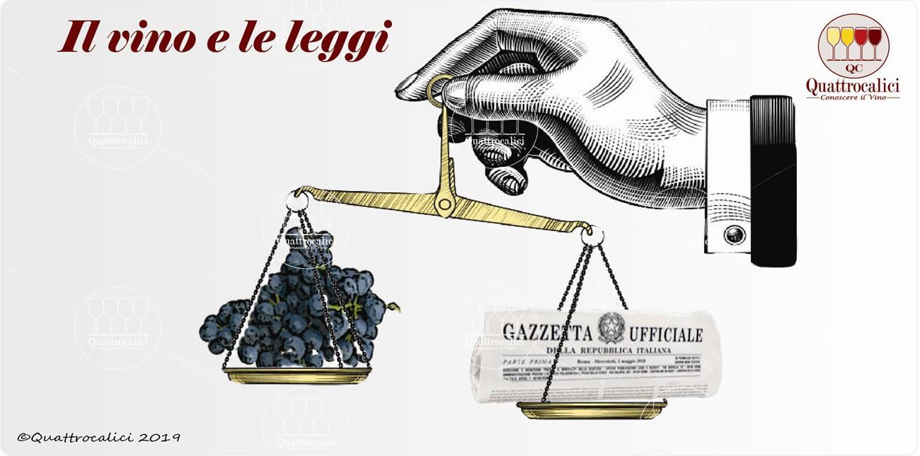legislazione e vino