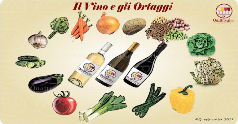 Il vino e gli ortaggi