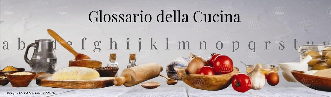 glossario della cucina